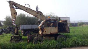 Kolový hydraulický nakladač Forschritt T 174