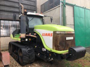 Pásový traktor CLAAS Caterpillar 85