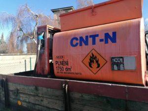 Čerpací nádrž na motorovou naftu CNT-N Nová Paka