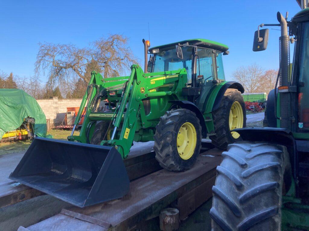 Traktor z Brexitu