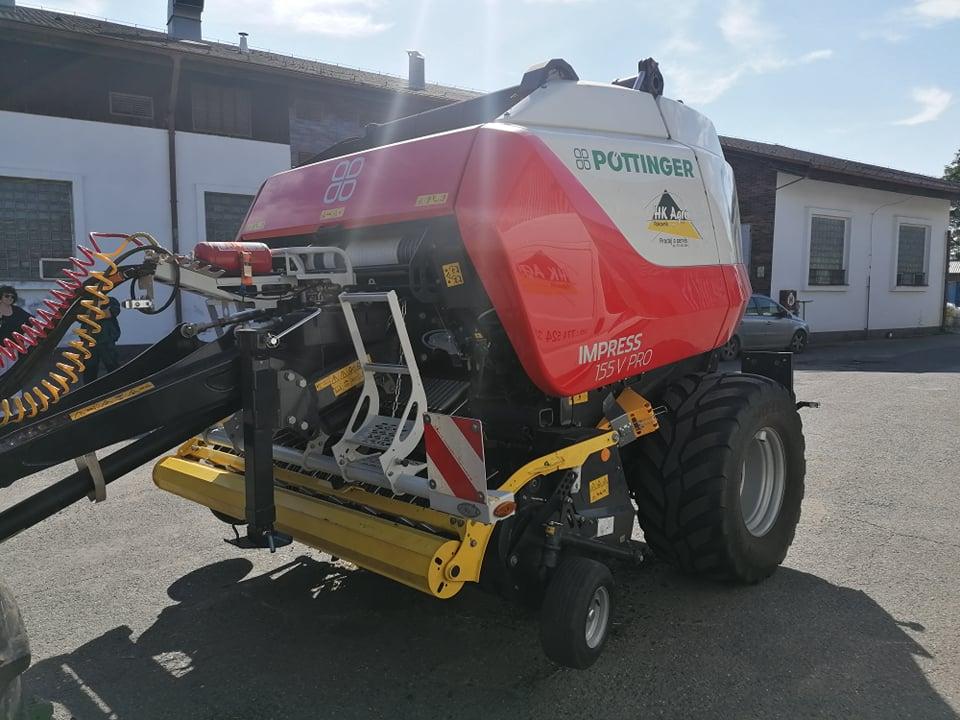 Další stroj ze stáje firmy Pöttinger putoval novému zákazníkovi